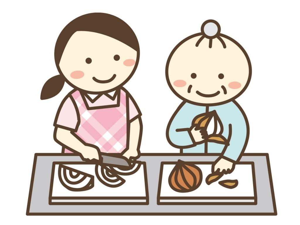 簡単な調理